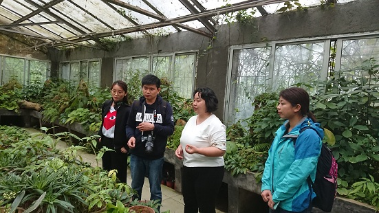GCCC(Shenzhen)of Fairylake Botanical Garden, Shenzhen & Chinese Academy of Sciences visited GCCC & Guilin Botanical Garden, CAS